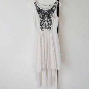 YA Los Angeles High Low Dress